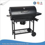 Gril extérieur de BBQ de charbon de bois de gril de barbecue de forme de baril
