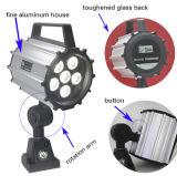 24V/220V замыкают накоротко светильники машины рукоятки СИД работая