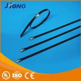 Puder-überzogene Edelstahl-Kabelbinder