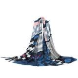 Form konzipierte gedruckten Schal für Dame