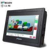Tela de toque Wecon 7 polegadas TFT HMI para controle de automação