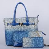 De nieuwe Handtassen van de Combinatie Pu van de Dames van het Ontwerp (p6402-1)