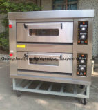 Double Deck 4 Trays Hidromassagem Forno a gás