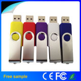 USB al por mayor 2.0 Flash Disk 2GB/4GB/8GB Swivel Flash Drive de Christmas Gift Thumb Drive