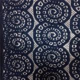 2016 telas químicas do laço da guipura da impressão do Sell quente do produto novo/laço da tela