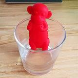 Температура формы обезьяны восприняла стрейнеры Infuser чая силикона