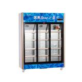 vertical 1208L encima de la unidad que resbala el refrigerador de la visualización de la Multi-Puerta