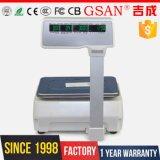 Machine de pesée numérique à échelle industrielle Scal d'impression