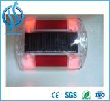 Parafuso prisioneiro plástico luminoso do marcador da estrada do refletor da estrada