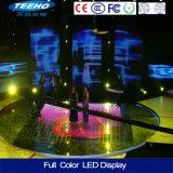 Pantalla de visualización de alquiler de interior de LED del RGB de la exploración P3 1/16 para la etapa