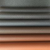 Tecido de couro de PVC de alta qualidade para assento de carro (HS-PVC16018)
