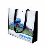 Bolso de compras no tejido ambiental (LJ-132)