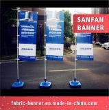 Дешевое цена для флага напольный рекламировать с основанием впрыснутым водой