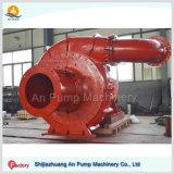 Gravier horizontal centrifuge d'abrasion de grande capacité anti aspirant la pompe
