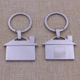 Highqualityの金属のFashion Gifts Logo PrintingレーザーFabric Keychain