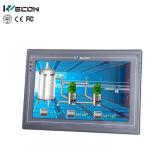 Wecon pantalla táctil de 7 pulgadas usada en la solución plástica de la máquina de la inyección
