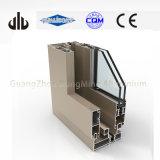 Windows de alumínio e frame deslizante de alumínio dos perfis das portas