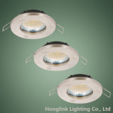 Acabamento em alumínio GU10 MR16 Halogen LED Recessed Downlight Housing