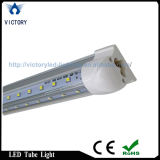 Luz libre del tubo de la forma de V 60W LED del envío T8 los 8FT
