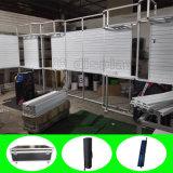 Индикация выставки торговой выставки Slatwall изготовленный на заказ ткани портативная модульная алюминиевая