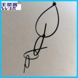OEM van de Vervaardiging van de Band van de Kabel van Guangzhou de In het groot PA66 Nylon Band van de Kabel met Vrije Steekproef