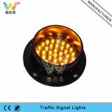 Kundenspezifisches Epistar LED 100mm gelbes blinkendes Verkehrszeichen-Licht