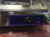 Grill électrique et grille pour grillages alimentaires (GRT-E818-2)