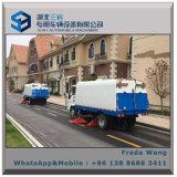 Camion de balayeuse de route du camion 5cbm de nettoyage de route à vendre