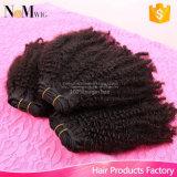 未加工人間の毛髪の拡張/バージンのインドの毛の織り方