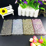 Pioggia Flower Pebbles/Stones Soft TPU Mobile/Cell Phone Caso per il iPhone 5/6/6p