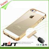 Caixa de galvanização do telefone móvel de TPU para o SE do iPhone