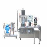 Dos Heads Automatic Filling Machine para Paint con Capping