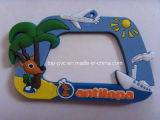 Qualität Plastic Promotional Gift 3D Silicone Foto Frame (PF-031)