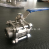 Estremità Weld Industrial Grade 3PC Ball Valve