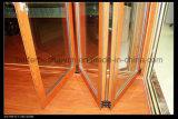 Puerta de plegamiento caliente modelo de la venta de Lestest/puerta de aluminio
