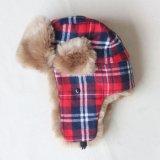 冬の暖かい毛皮Caps&Hats