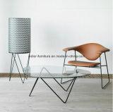 (SD-5003)現代ホテルのレストランの居間の家具のガラスコーヒーテーブル