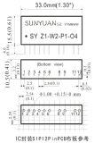 Rtdの熱抵抗のシグナルのトランスデューサー(SIP12 PIN) Sy-Z - W4-P-O1