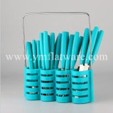 Poignée Promotion plastique Cadeau Couverts en acier inoxydable