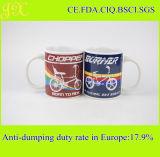 Berufshersteller-Großverkauf-keramisches Cup mit Abnehmer-Abziehbild-Entwurf