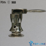 Válvula de amostra de aço inoxidável Aseptic