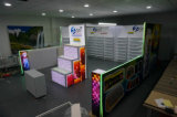 Подгонянная портативная будочка выставки с конструкцией (TY-SC01)