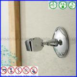 Tazza attaccabile di aspirazione di vuoto della stanza da bagno del supporto della testa di acquazzone della parete registrabile
