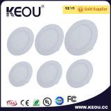 Kühle dünne Leuchte des Weiß-LED Downlight des Panel-LED