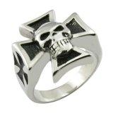 Populaire Toebehoren 925 van de Juwelen van de Manier Echte Zilveren DwarsRing