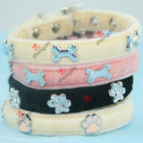 Più nuovo Leather Pet Collar per Dogs e Cats (P-16)