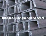 GB/T 706-2008 Q235B Q275D, laminado a alta temperatura, canaleta Steelm, aço especial,