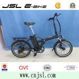 безщеточный мотор 36V черный 250W складывая электрический Bike (JSL039XB-3)