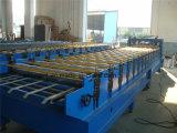 機械を形作る828青い波形のタイプ鋼鉄タイルの金属板