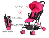 Kleiner, heller, einfacher Baby-Spaziergänger für Einstieg